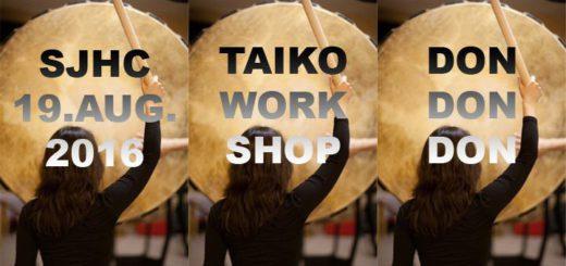 Taiko Workshop 2016